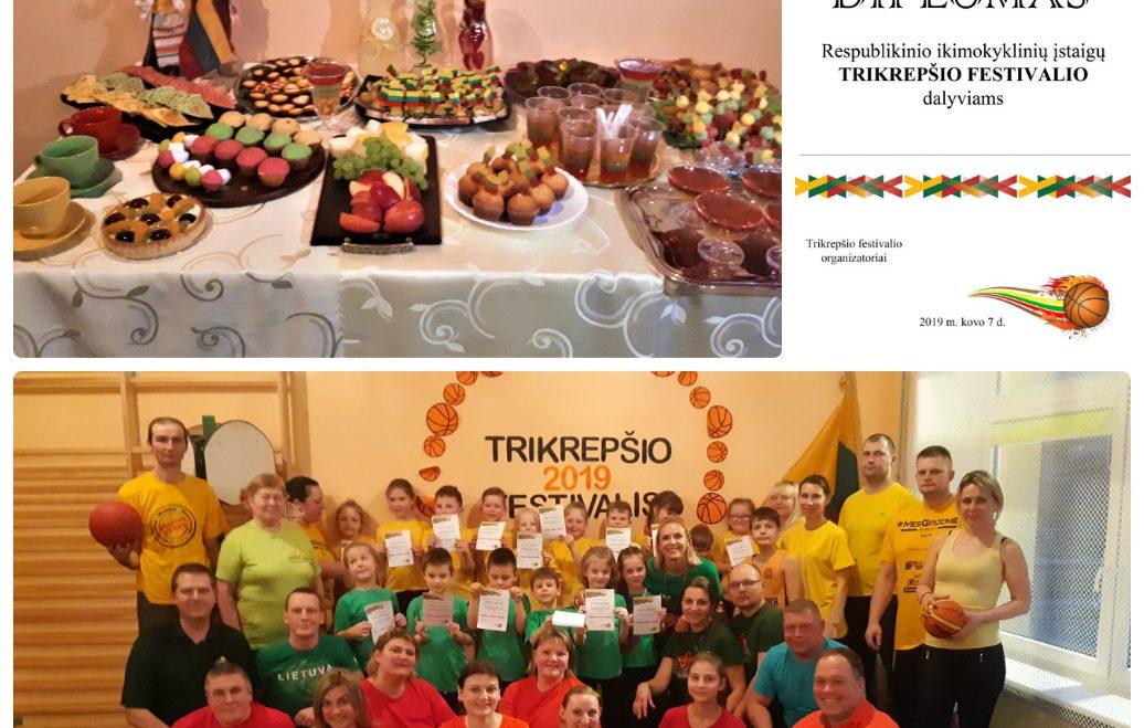 Respublikinis ikimokyklinių įstaigų Trikrepšio festivalis
