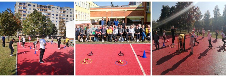 Olimpinio solidarumo fondo ir Lietuvos teniso sąjungos projektas