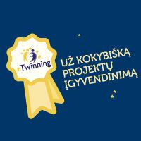 eTwinning projekto įvertinimas!